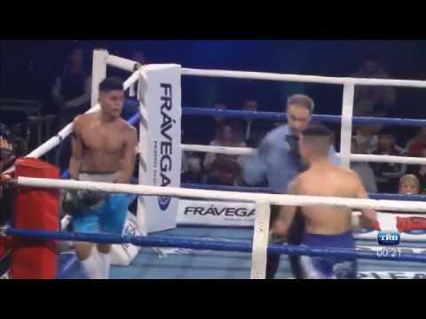 CRISTIAN ANTONIO vs MARTIN ROCHA - TRN BOXEO 5/8/2017