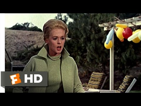 The Birds (2/11) Movie CLIP - Children's Birthday Surprise (1963) HD