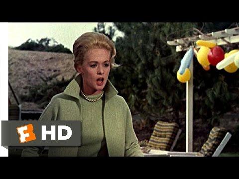 The Birds (2 11) Movie Clip - Children's Birthday Surprise (1963) Hd video