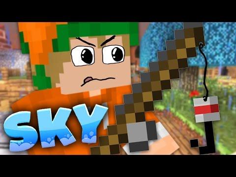 Wir angeln Tiere | #54「Minecraft SKY」