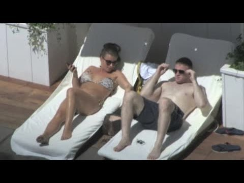 Coleen Rooney and Wayne Rooney Holiday in LA - Splash News