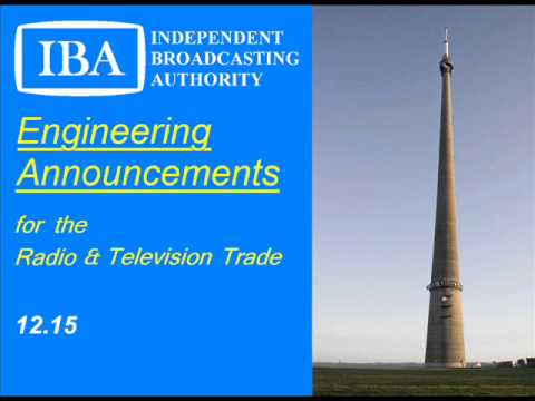 IBA Engineering Announcements Mock Slide