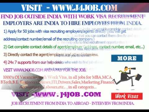 Qatar job with visa, Qatar recruitment with visa, Qatar free visa, Qatar job interview in India