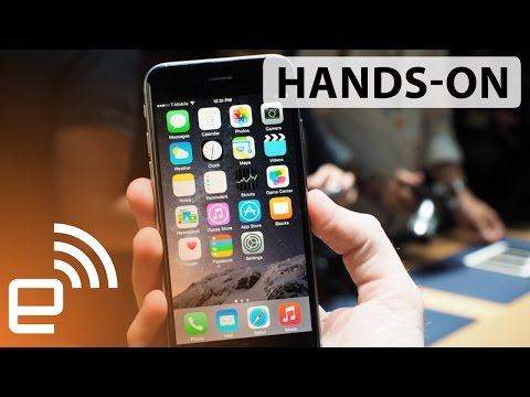iPhone 6 and iPhone 6 Plus hands-on | Engadget