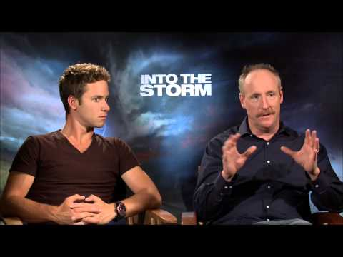 Into The Storm - Matt Walsh and Jeremy Sumpter Interview - Official Warner Bros.