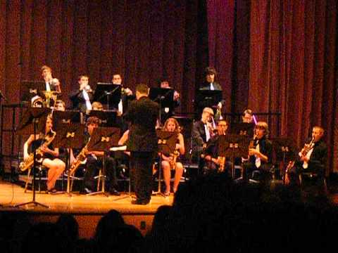 Lehighton Area High School Jazz Band Performs The Shadow of Your Smile