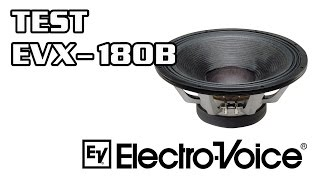 TEST Electro Voice EVX-180B