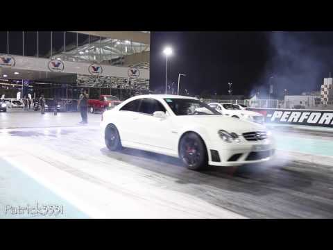 Group63 AMG drag race event at Yas Marina Circuit Abu Dhabi