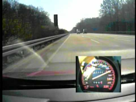 Ferrari 512 TR on Autobahn1 Video