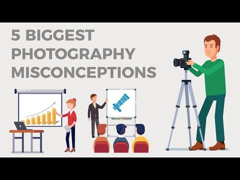 5 Biggest Photography Misconceptions