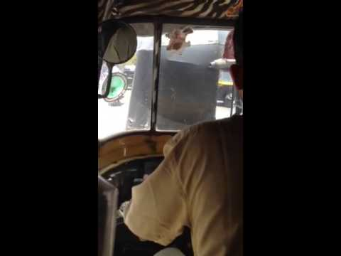 Mumbai from an Auto