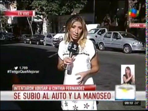 Cinthia Fernández no cree que su agresor esté mal psicológicamente