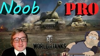 "Нуб и ЗАДРОТ играет в WOT | ""World of Tanks"" thanks ^___^"