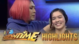 It's Showtime Copy-Cut: Vice Ganda helps Ate Girl with her FUNishment