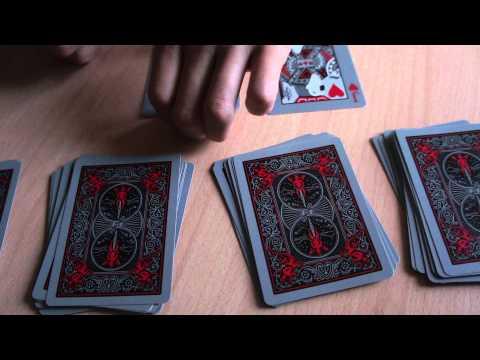Математический фокус с тремя картами + обучение