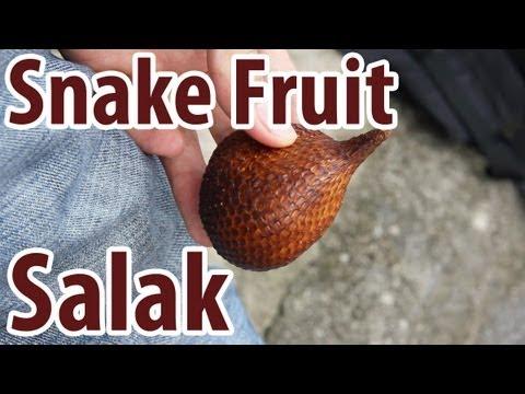 Exotic Fruit: Salak - Snake Fruit!