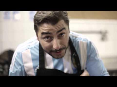 Un chef creó el postre Gol de Messi