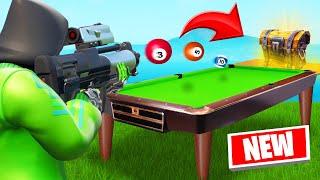 *NEW* POOL GUN GAME In FORTNITE! (Creative Mode)
