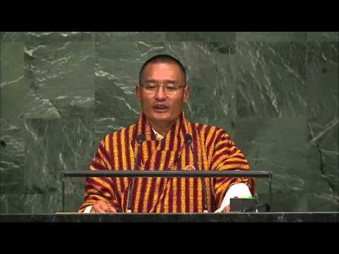 Bhutan Post 2015 Summit Statement by PM Tshering Tobgay 25 09 2015