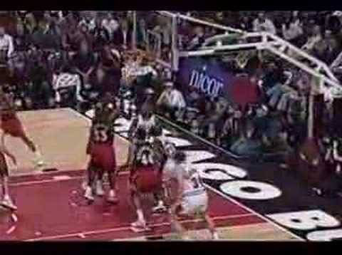 1998 Bulls vs Hawks, Jordan 37 pts and buzzer beater