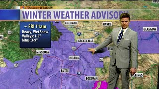 Sleeper Storm with Several Inches of Snow Likely