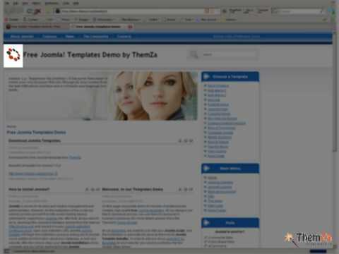JOOMLA TEMPLATE TUTORIAL VIDEO
