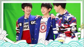 "[TFBOYS] 150124 ""Magic Crazy"" TV show - Photo shooting - Tăng động level max"