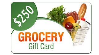 How to get  a free  $250 Grocery Gift Card in USA