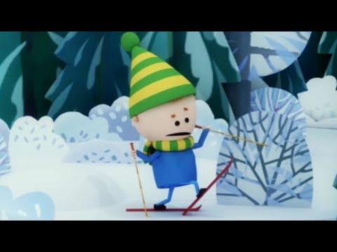 Аркадий Паровозов спешит на помощь - Лес зимой - поучительные мультики детям -  серия 17