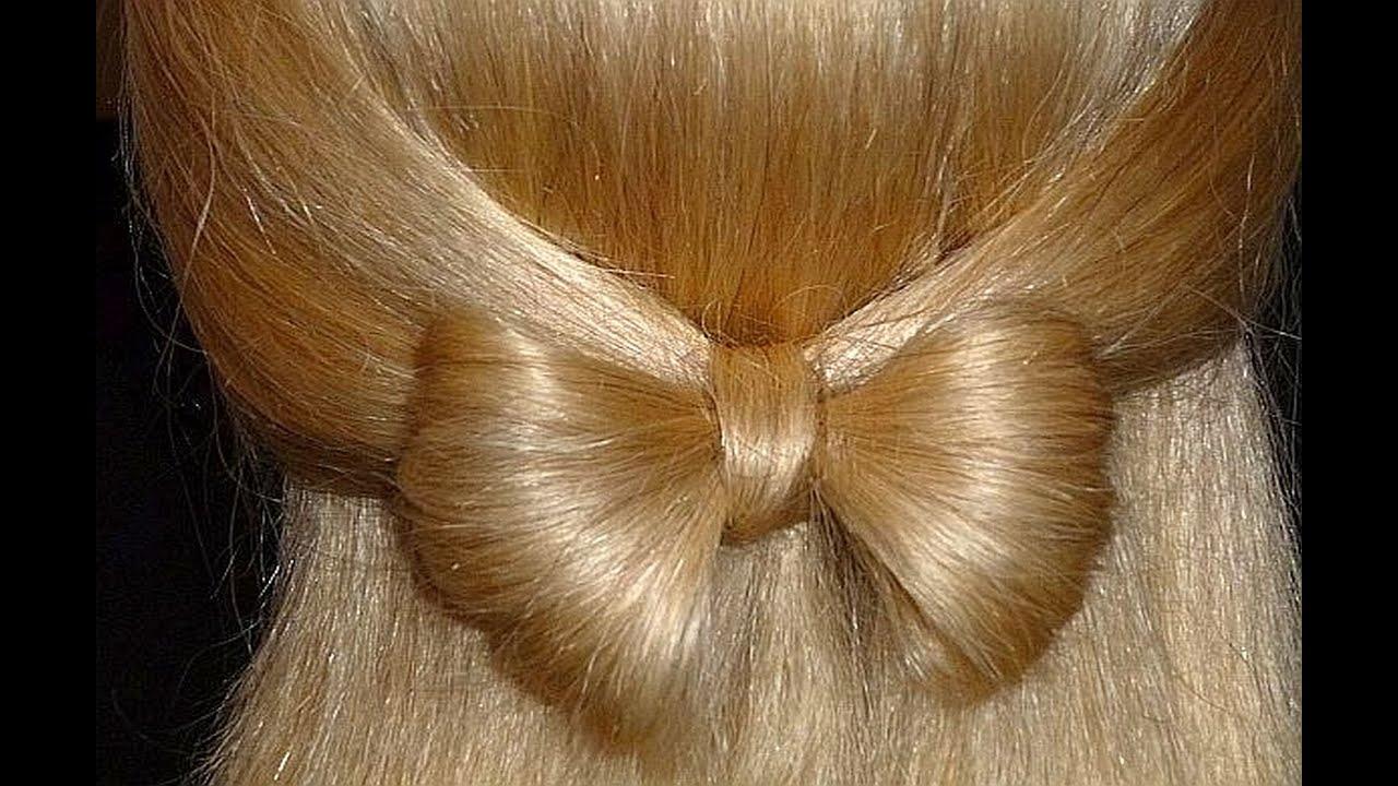 Легкие прически на 1 сентября на средние волосы картинки