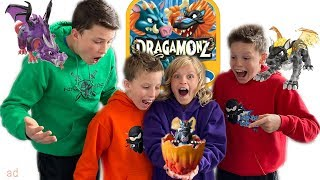 Ninja Kidz Dragamonz Battle!