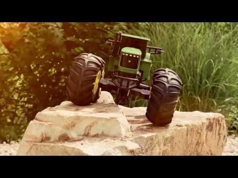 John Deere Monster Treads Radio Control Tractor