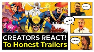 X-Men: TAS Creators React To Honest Trailers Satire! Animated Series: 25th Ann. of 1990s Cartoon