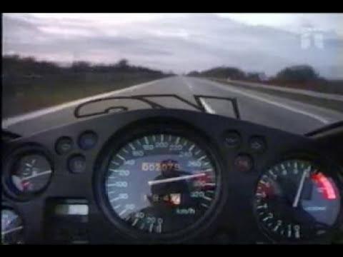 Prueba de velocidad, en moto de pista!!!