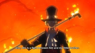 Sabo Vs Lucci CP0 - One Piece Gold