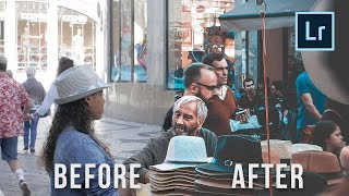 TEAL AND ORANGE Lightroom Preset TUTORIAL for street photography