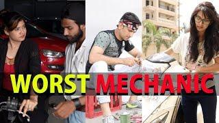Worst Mechanic - Hyderabadi Super Funny  Video by Shehbaaz Khan