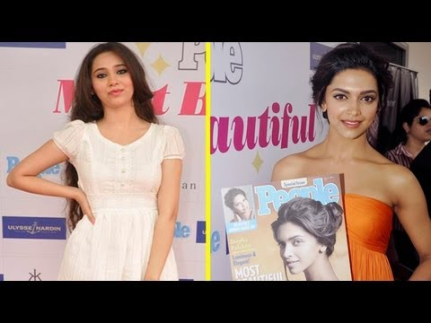 PHOTO PLAY: Deepika & Sasheh At Launch Of People Magazine