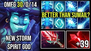 NEW STORM GOD!!! Even Better Than Sumail ? - Fastest Hand 30Kills Never Die By Russian Spammer Dota2