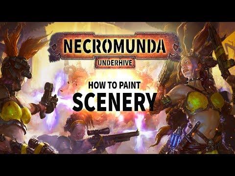 Necromunda: How to paint scenery.