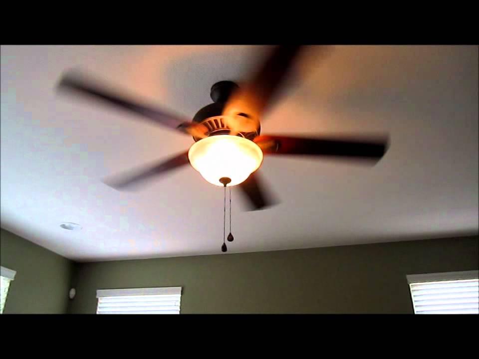My ceiling fan light blinks : Harbor breeze quot crosswind ceiling fan review