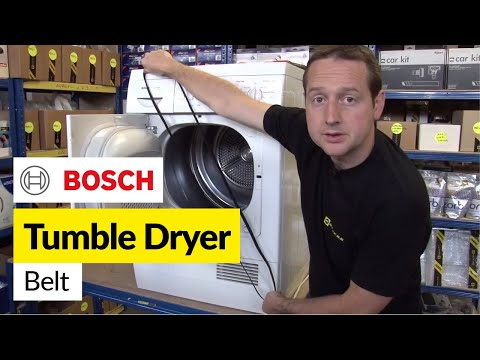 how to change a dryer belt