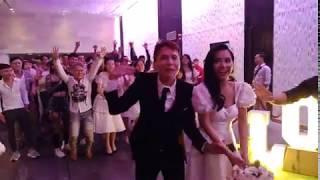 Nabi Nhã Phương chưa thể cưới chồng vì điều này tại đám cưới em gái