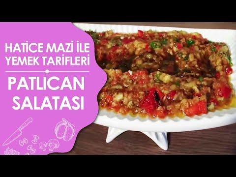 Patlican Salatası Tarifi Videosu - Abugannuc Tarifi