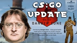 MAJOR UPDATE: Did Valve Kill CSGO? Battle Royale and Free to Play?