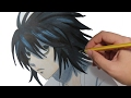 Download COMO DIBUJAR ANIME L DE DEATH NOTE: Aprende a dibujar personajes manga paso a paso in Mp3, Mp4 and 3GP