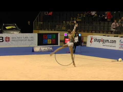 Maria Titova, Hoop, Russia Berlin Masters 2013, Grand Prix Serie, Rhythmic Gymnastics All Around Qualification, Round 3, Participant 19 Saturday, October 19t...