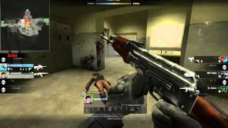 Mag-7 ve ak47 Clutch And Ace !-CS:GO