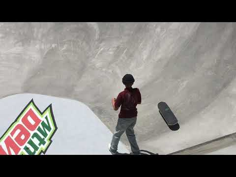 CJ COLLINS DEW TOUR LONG BEACH AM BOWL HIGHLIGHTS