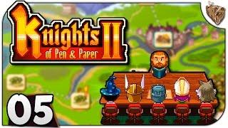 "Knights of Pen and Paper 2 #05 ""Cidade Grande"" - Gameplay Português PT-BR"